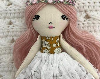 Muñecas de trapo muñeca trapo muñeca tela muñeca tela Muñecas trapo Muñecas muñecas tela hecha a mano muñecas paño muñecas hechas a mano reliquia muñecas hechas a mano