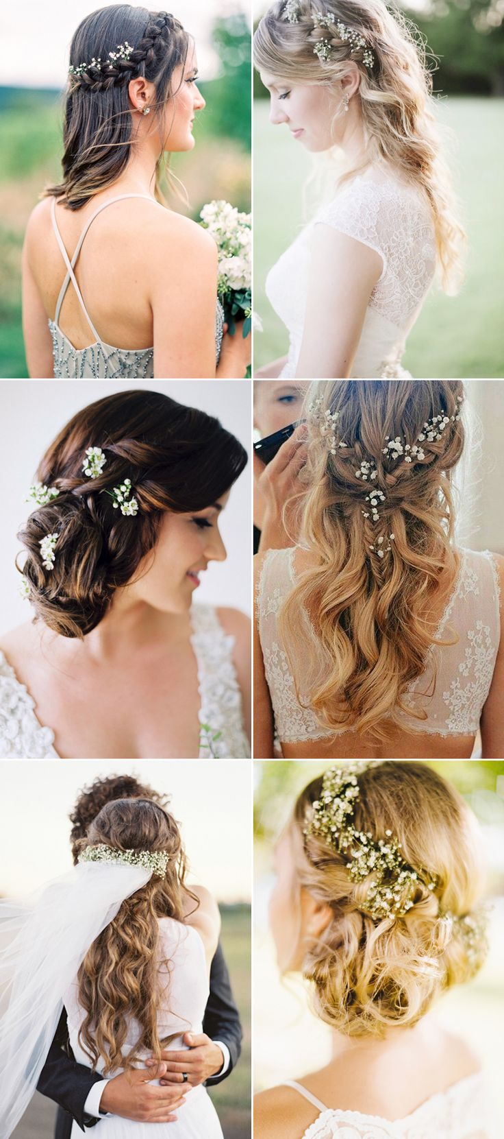 20 Adorable Ways To Wear Baby's Breath In Your Hair!