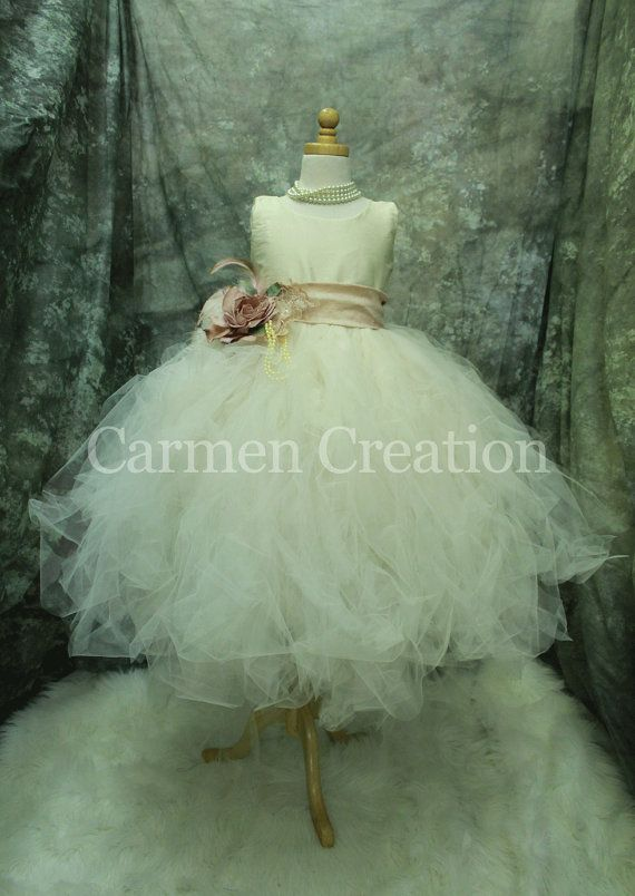 Hey, I found this really awesome Etsy listing at https://www.etsy.com/listing/173968019/couture-flower-girl-dress-fairy-dress