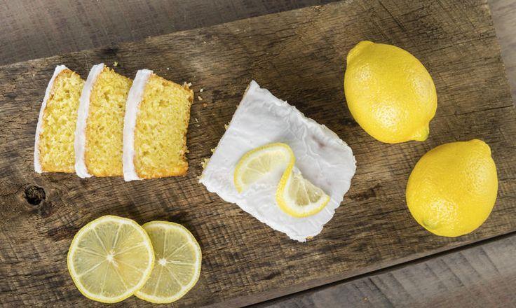 Svěží citronová buchta bez lepku