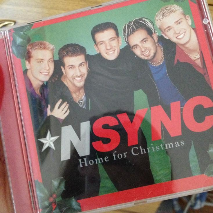 The first album Tiana purchased (she has all the Nsync albums even the trance remix one)!