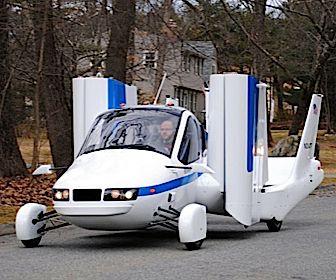 Vliegende auto is geen luchtfietserij