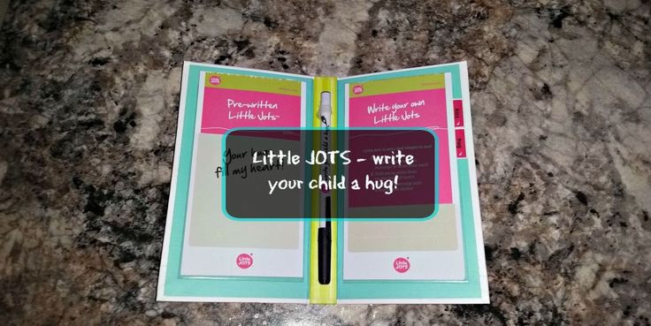 Little JOTS - Lunchbox Note Cards - Write you child a hug!