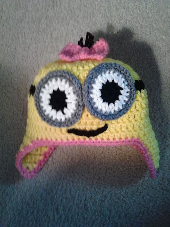 Free Crochet Pattern For Minion Hat And Overalls : 1000+ ideas about Crochet Minion Hats on Pinterest ...