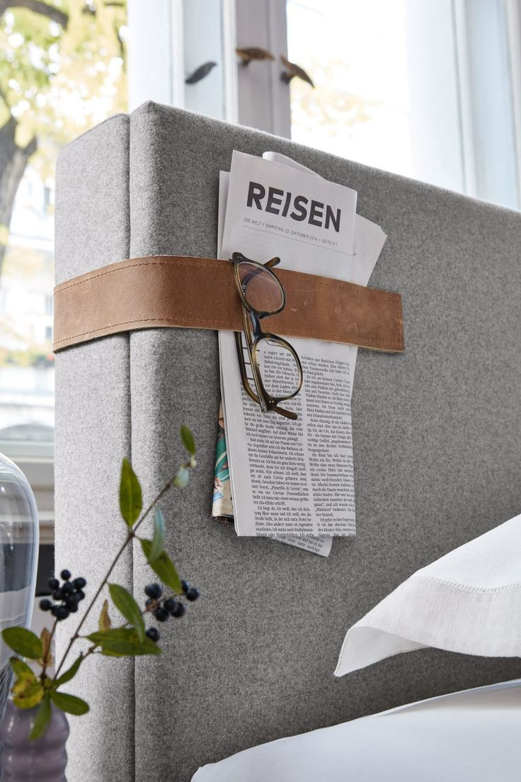 hold newspapers for bedtime reading   Pinterest: heymercedes