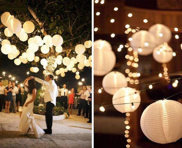 Faroles para la decoración de tu boda