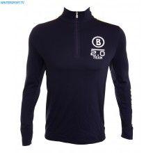 Bogner Men Dany First Layer Shirt – Navy