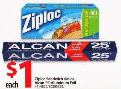 Free Ziploc bags at Walmart using a printable coupon! Deal is valid January 8-9th 2014! Visit www.canadascouponeer.com to get full details and link to the coupon!