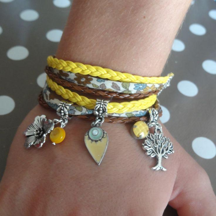 fr_bracelet_deux_tours_zen_jaune_marron_vert_d_eau_