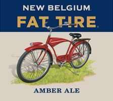 New Belgium Fat Tire Amber Ale label