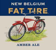 New Belgium Fat Tire Amber Ale label