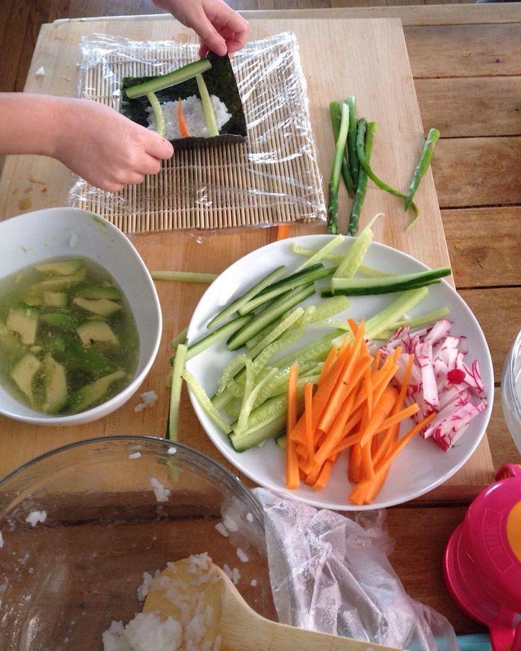 Prepping.  What's for dinner?  #ChefLeen by chefleen