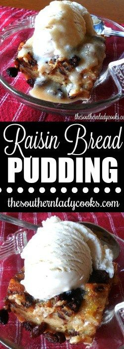 Raisin bread pudding is a quick, easy dessert recipe wonderful for any derby party or gathering. Your friends and family will love this delicious pudding.
