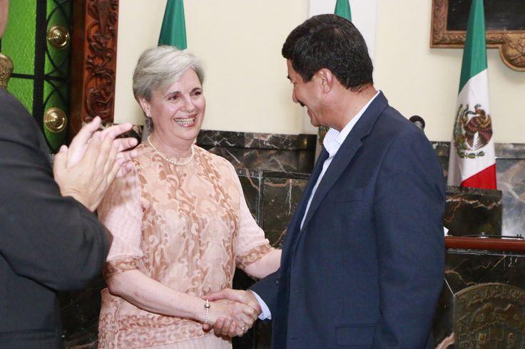 Nombran a María Concepción Landa, Secretaria de Cultura