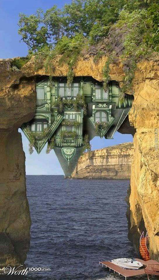 Real Estate headings of the most unusual Cottages in the world