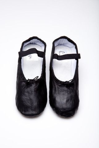 { Dallas Shaw picks: black ligne ballet shoes }