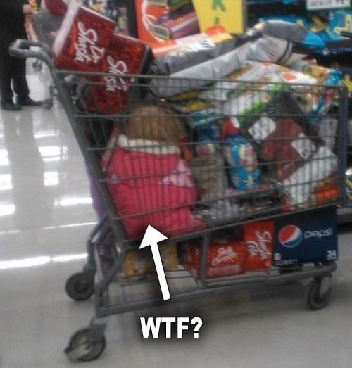 WTF Sunday at Walmart...this is horrible!