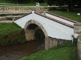 Pequeño puente Monumento de la Batalla del Puente de Boyacá en 1819.