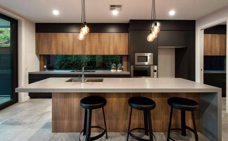 1 increíble/sofisticado look con Mod Concrete lo utilizó para la cocina, el baño, y la lavandería práctico y duradero