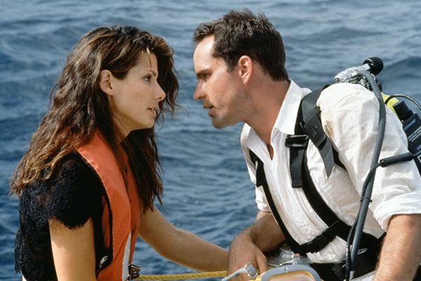 13 On-Screen Couples Who Have ZERO Chemistry - Sandra Bullock and Jason Patric in Speed 2: Cruise Control