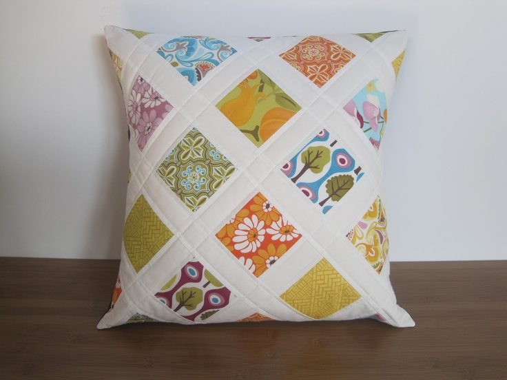 quilted pillows way faster than an entire quilt & 23 best Quilted pillow covers images on Pinterest | Quilted pillow ... pillowsntoast.com