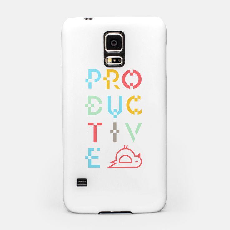 Productive Samsung Case by Rkvadratu 19.95€