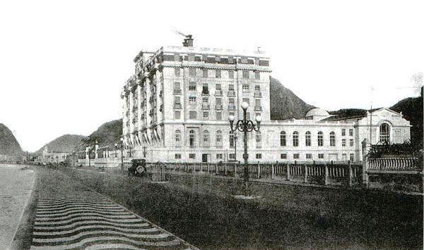 Hotel Copacabana palace em 1923