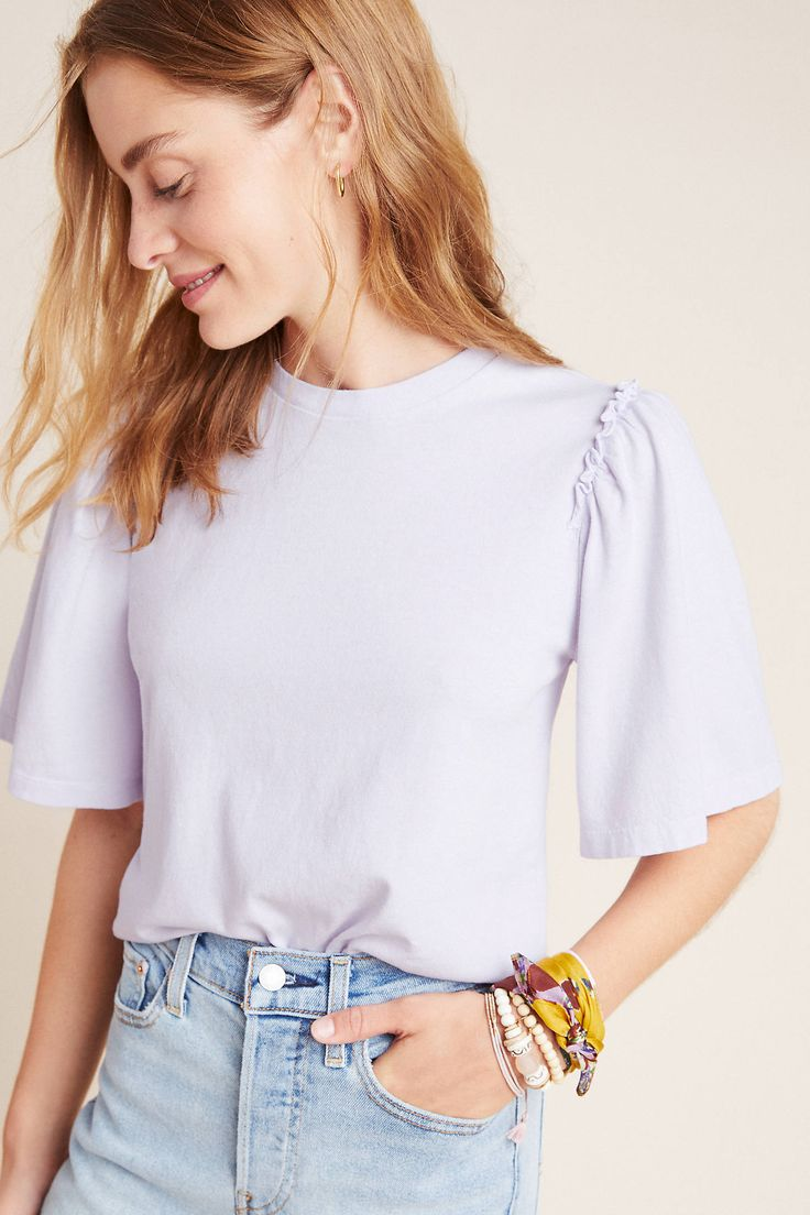 Citizens of Humanity Vera Tee by in Purple Size: Xs, Women's Tees at Anthropologie