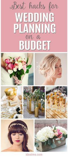 Best hacks for wedding planning on a budget. You can still have a stylish, fun, memorable wedding, while saving money at the same time. Here are some of the best ways to do just that.