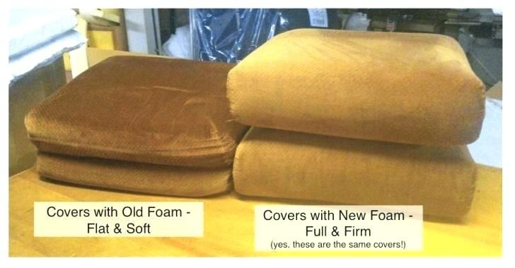 Refilling Couch Cushions Cushions On Sofa Couch Cushions Sofa Cushion Foam