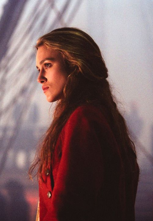 Keira Knightley as Elizabeth Swann in Pirates of the Caribbean: The Curse of the Black Pearl - 2003