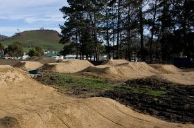 trail design/consultancy/construction: Kempton Dirt Jump Park nearly ready for launch