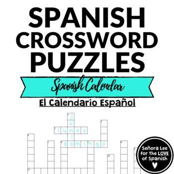 32 best Spanish Crosswords | Crucigramas images on Pinterest ...