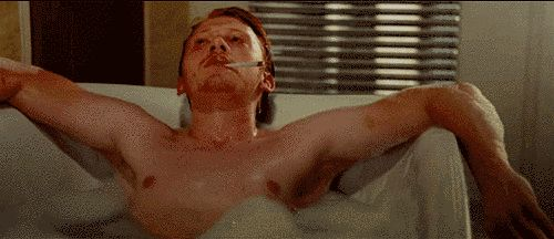 """And he also really loves being shirtless and wet.   Reminder: The Men Of """"Harry Potter"""" Are All Grown-Up"""