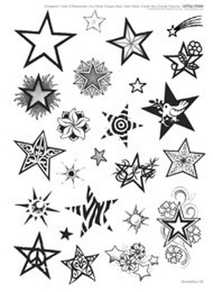 luna_e_stelle_tattoo_1 | stars | star tattoos, tattoos, star tattoo