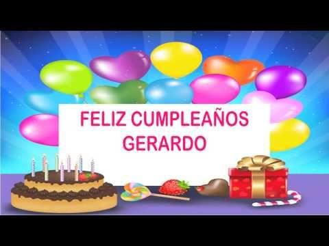 Happy Birthday Gerardo 24 December