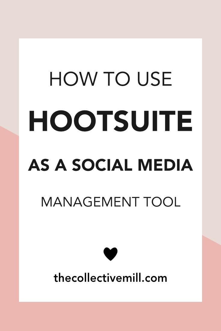 How To Use Hootsuite As A Social Media Management Tool: Social media has changed the way we communicate with our friends, market our businesses, and interact with the world around us. People are connecting across Facebook, Twitter, Instagram, YouTube, and the list goes on. However, social media can end up sucking way too many hours everyday. Click on the link to find out how to start using Hootsuite to automate just about everything social. TheCollectiveMill.com