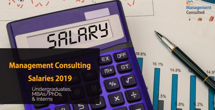 Consulting salaries for 2019 management consulted