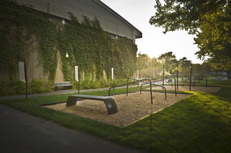 TREKFIT - Outdoor fitness circuit  Parc Médéric Martin, Ville de Montreal,  Arrondissement