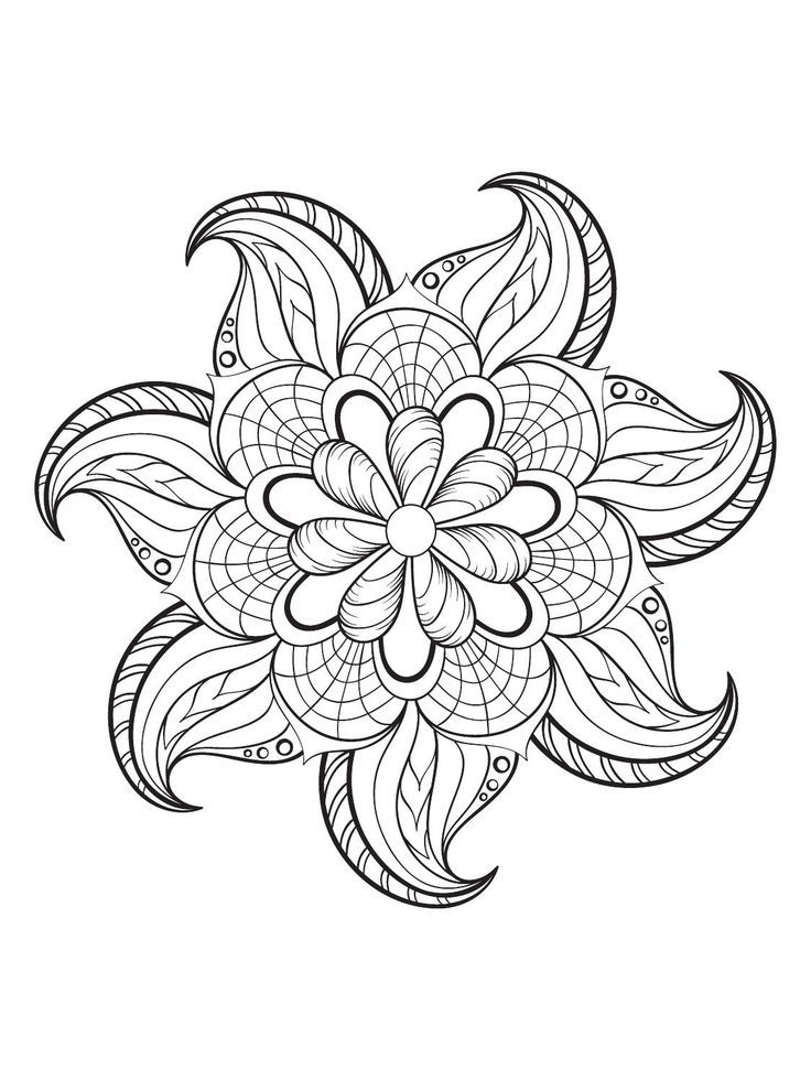 Mindfulness Coloring Pages Miscellaneous