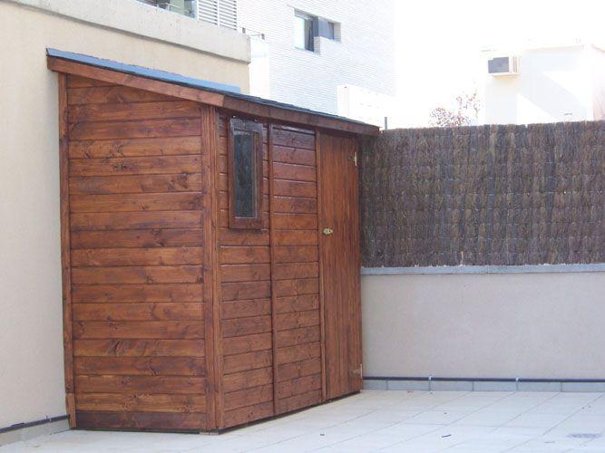 muebles de banos caseta de jardin de madera