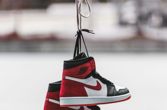 6b41025a1a7 An On-Feet Look At The Air Jordan 1 Retro High OG Track Red The