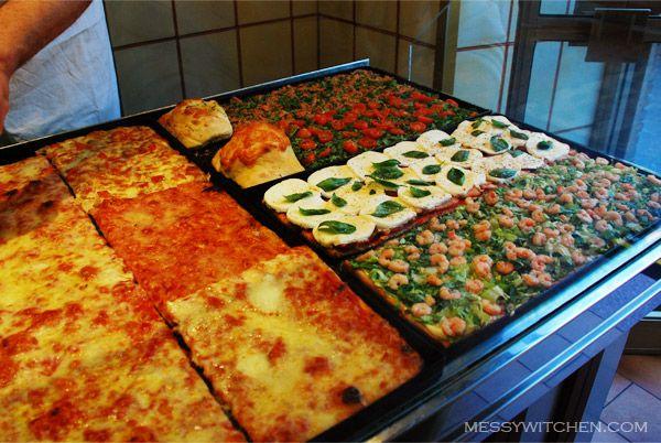 Pizzas @ Pizzeria Rustica, Rome, Italy