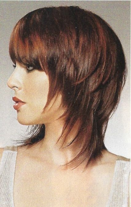 1000 Images About Hairstyles Shags Layered Bobs For
