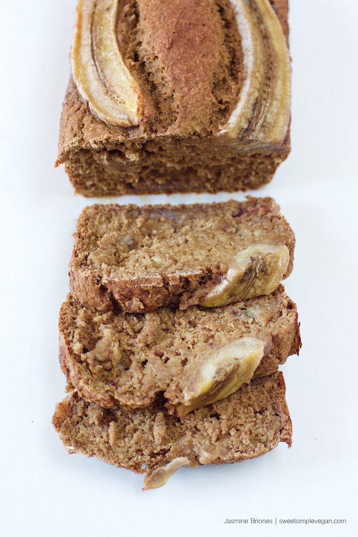 A healthy Date-Sweetened Banana Bread that you can guiltlessly consume and enjoy!