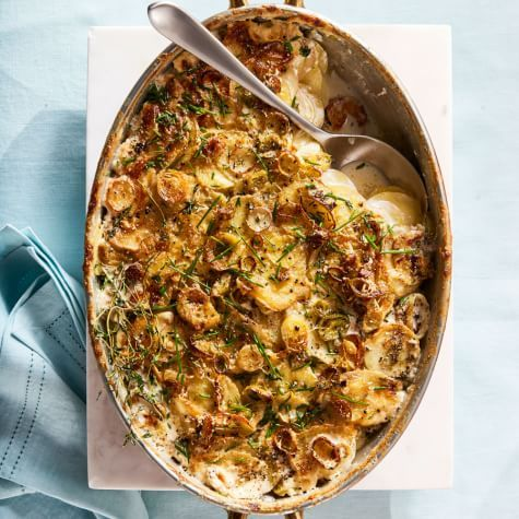 Scalloped Potatoes with Leeks | Williams Sonoma