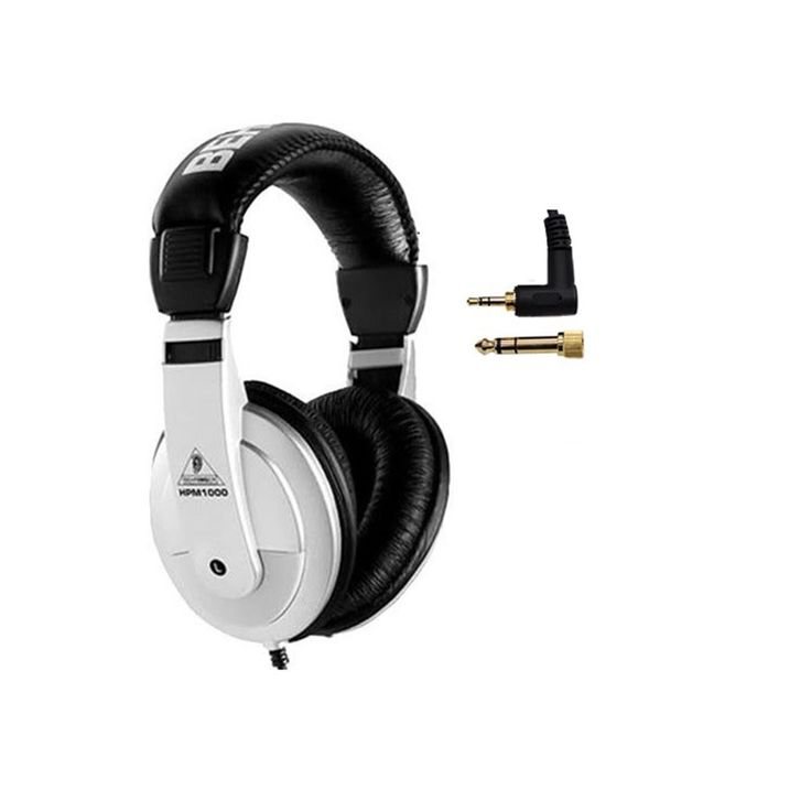Los audífonos HPM 1000 están diseñados para mezcla en grabación, monitorización o disfrutar música en su reproductor, con una alta respuesta en frecuencia y rango dinámico.
