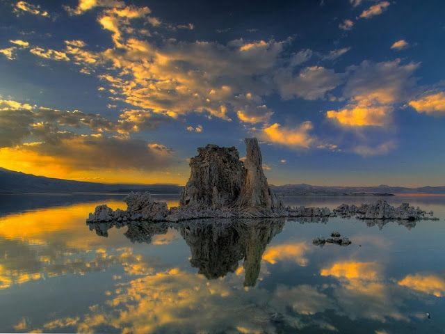 حقائق مذهلة أجمل 17 صورة للسماء الملونة Lakes In California Lake Landscape Sunset Photos