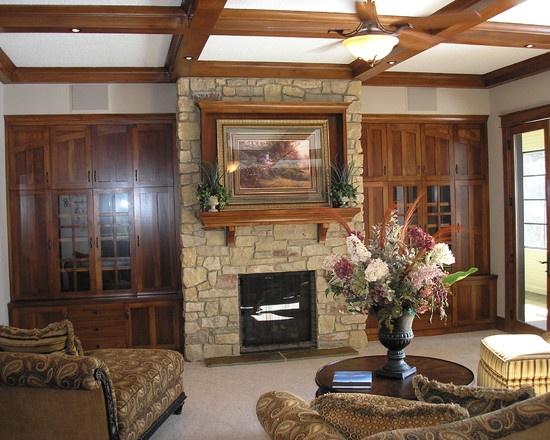 stone fireplace surround design