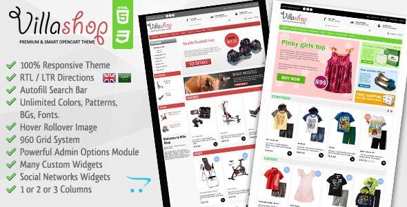 Villa Shop - Premium Opencart Theme (OpenCart) Download - PROFIREFOX
